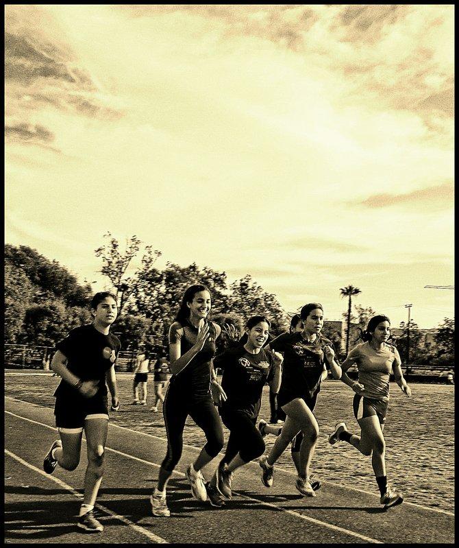 Neighborhood Photos TIJUANA,BAJA CALIFORNIA Young athletes training in Tijuana's CREA Sports Complex/Jovenes atletas entrenando en Unidad Municipal CREA en Tijuana