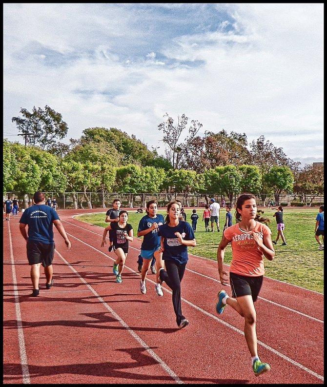 Neighborhood Photos TIJUANA,BAJA CALIFORNIA Young athletes traingin in Tijuana's CREA Sports Complex/Jovencitos entrenando en la Unidad Deportiva CREa de Tijuana