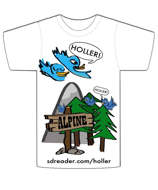 Holler Alpine!! by Bob & Jackie :)