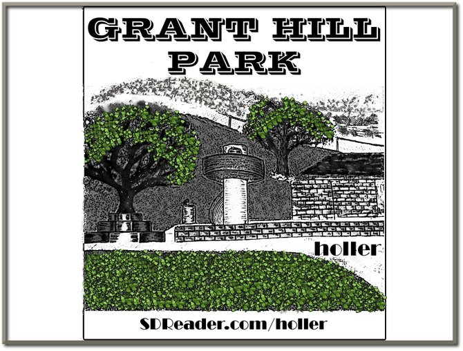 This is the way Grant Hill Park use to look from the late 70's to the mid 80's...