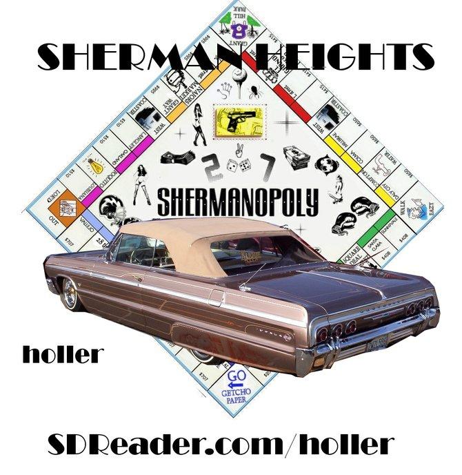 Sherman Heights: keepin' it low low..