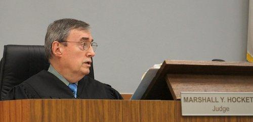 Judge Million-dollar-Marshall set bail at $5mill today.  Photo Weatherston.