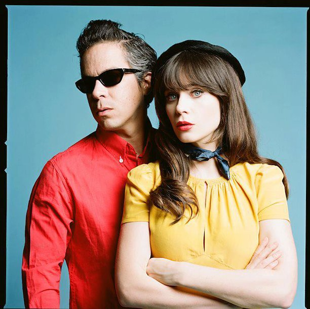She (Zooey Deschanel) & Him (M. Ward) visit SDSU's Open Air Friday night.