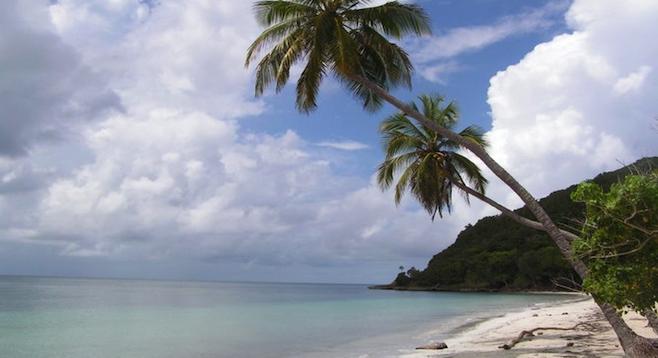 Providencia's Playa Manzanillo.