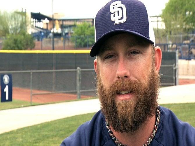 Padre pitcher Dale Thayer's Beard
