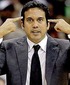 Miami Heat Coach Erik Spoelstra