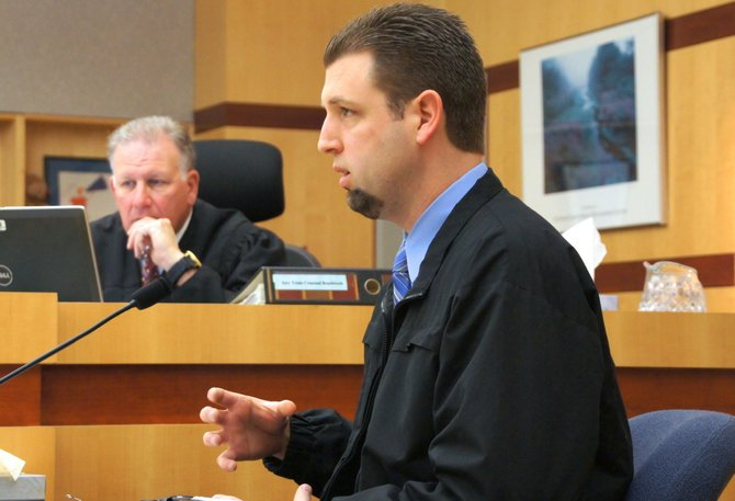 Oceanside police detective Joshua Young got a confession. Photo Weatherston.