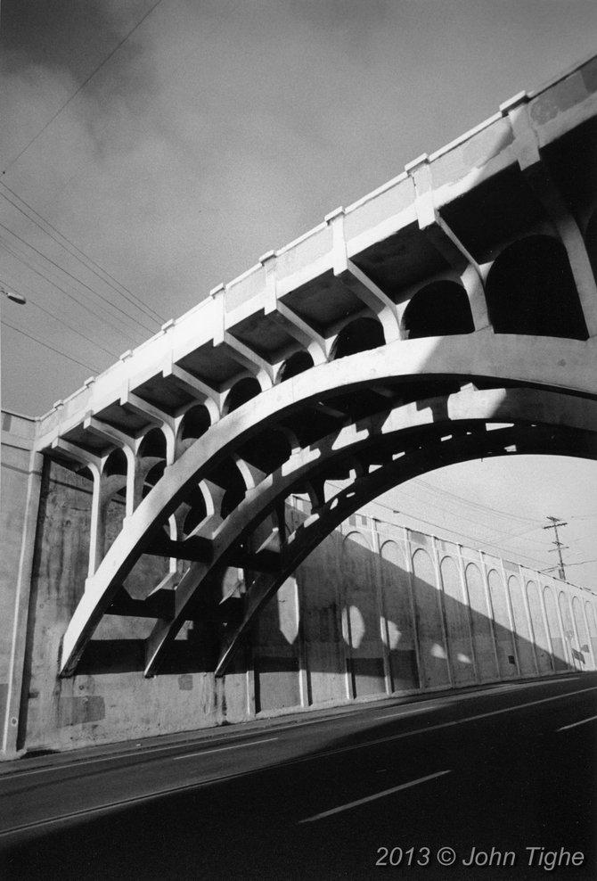 The Georgia Street bridge in North Park.