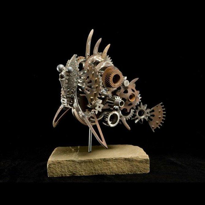 Sculpture piece by Gary Johnson