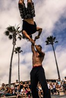 BUSKERS at Seaport Village (part of San Diego Fringe Festival)!!