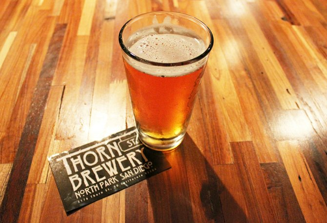 Thorn St. Imperial IPA...now available in pint-sized portions.