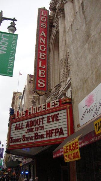 The Los Angeles Theatre (1931-Present).