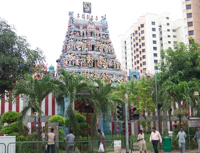 Little India's Sri Srinivasa Temple