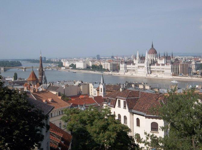 Overlooking Budapest, Hungary