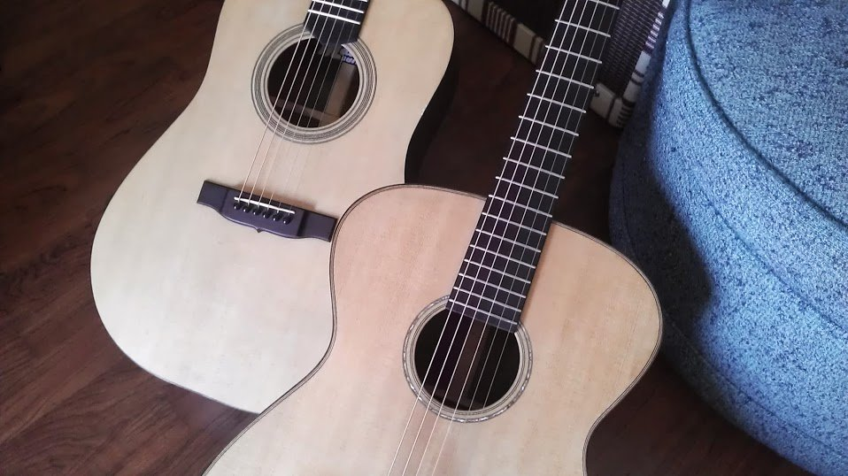 Two Madrid guitars.