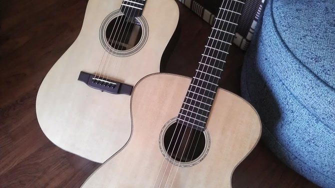 Two Madrid guitars.