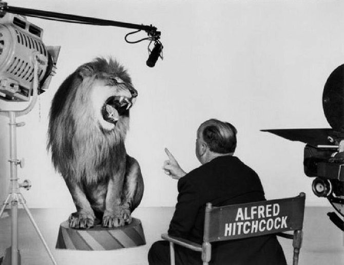 "Wasn't it Hitch who said, ""All actors are lions?"""