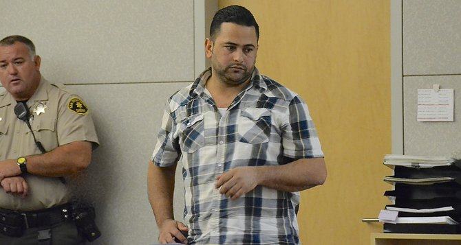Abrahim Ah Saed wore the same plaid shirt, a judge said. Photo Weatherston.