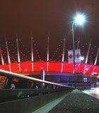 Vancouver BC at night.