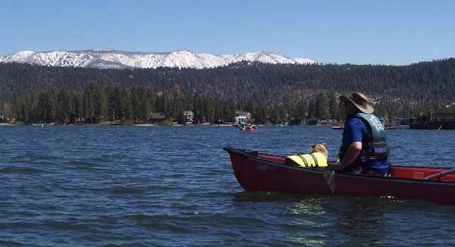 Quiet time on Big Bear Lake.