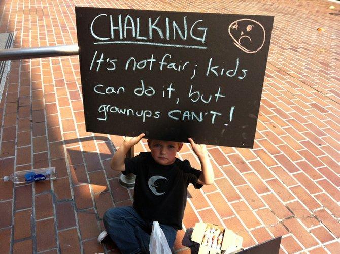 Photo taken during Chalk-U-Py San Diego