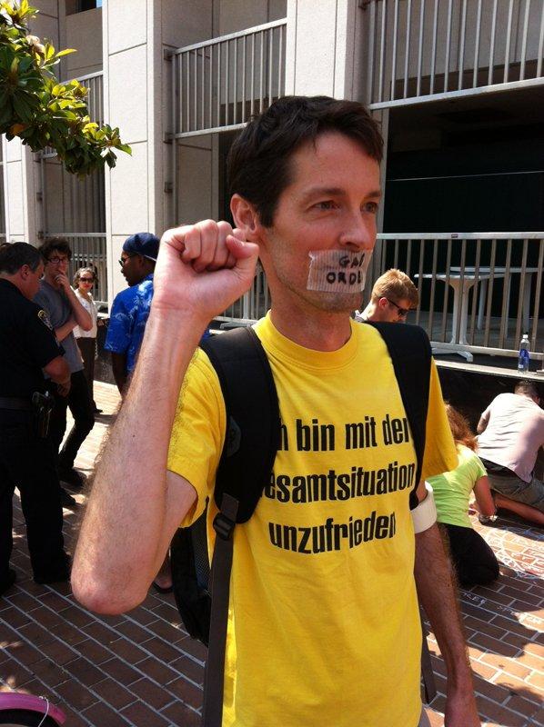 Photo of Jeff Olson from Chalk-U-Py San Diego event