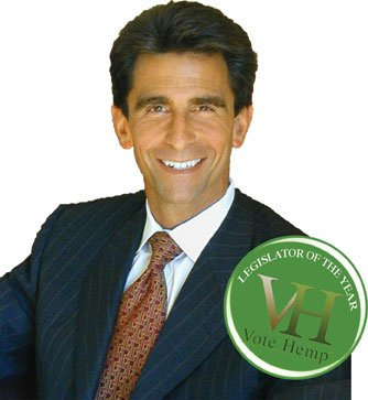 State Senator Mark Leno won legislator of the year from a group run by Escondido hemp activist David Bronner.