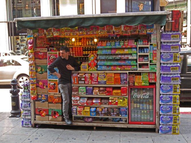 London street vendor.