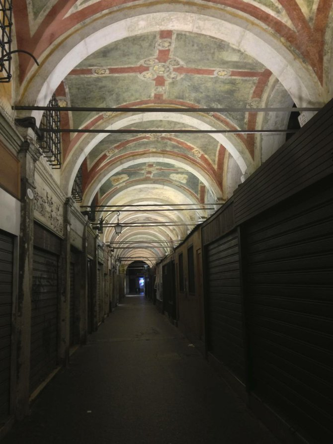 """Secret"" passageway in Venice."