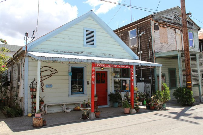 Main Street Shop In Locke, California