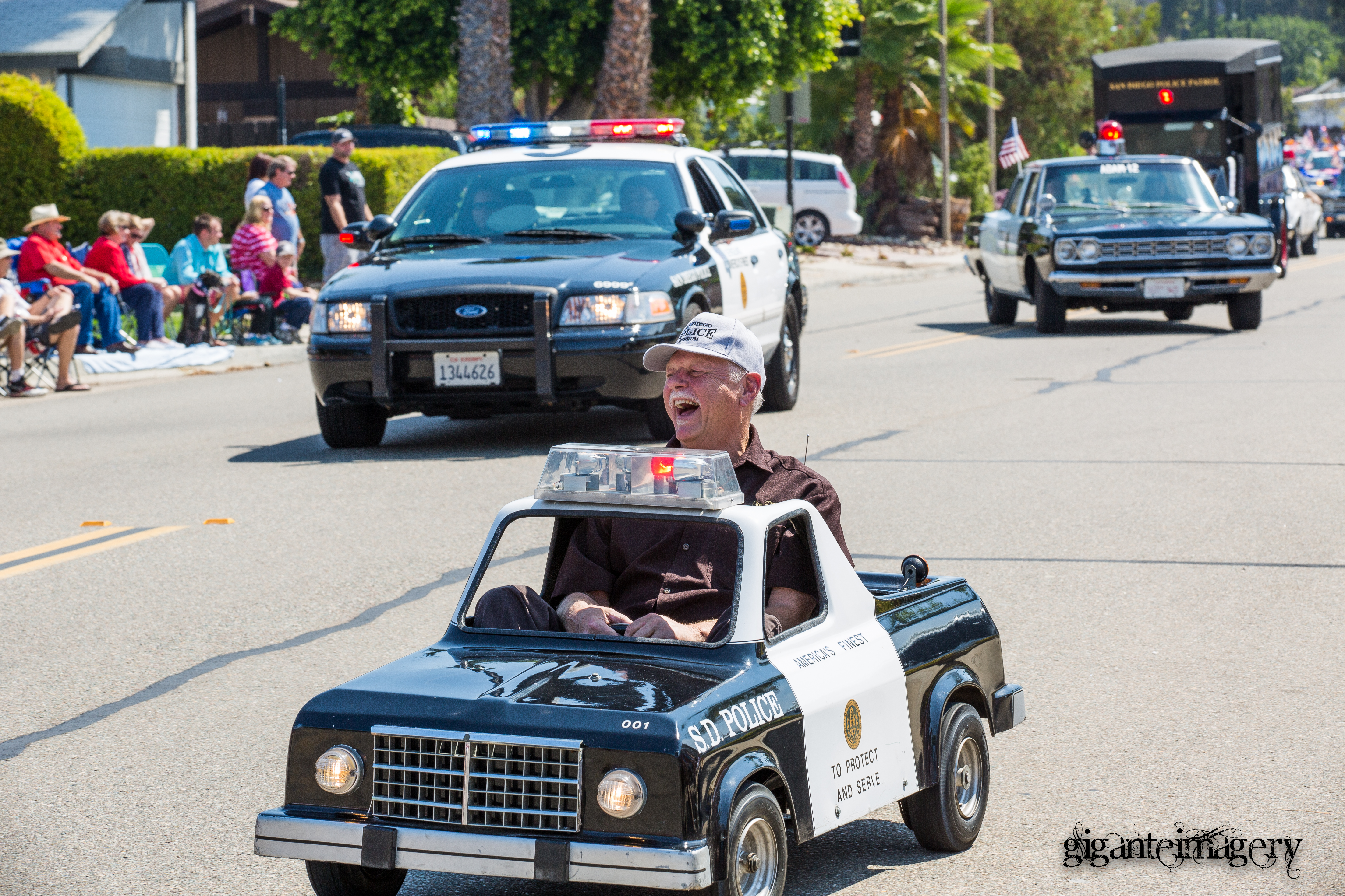 4th of July Parade in Scripps Ranch!  I Iove this shot!