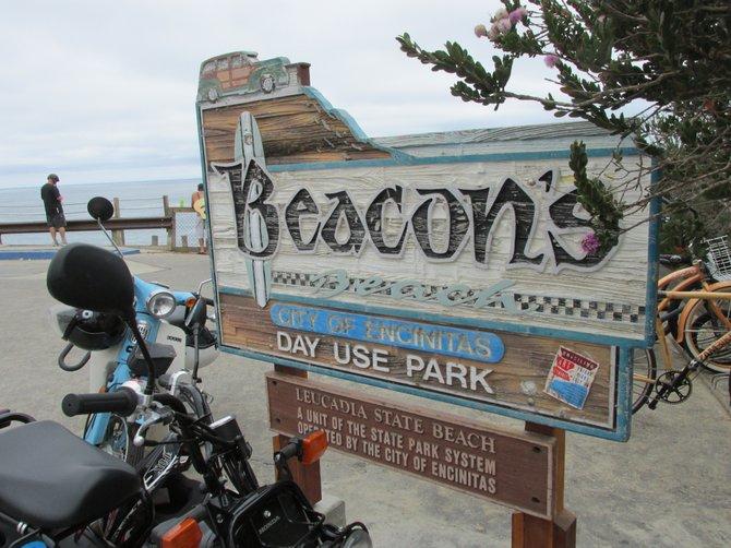 The of the beach of Beacon, not Beacon's