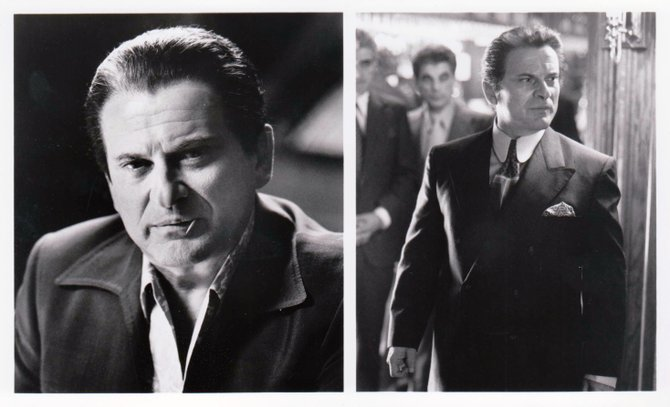 "The Lily Munster: ""JOE PESCI stars as Nicky Santoro, Ace's hot-tempered best friend who brings his streetwise muscle to Ace's Las Vegas operation and eventually betrays him."""