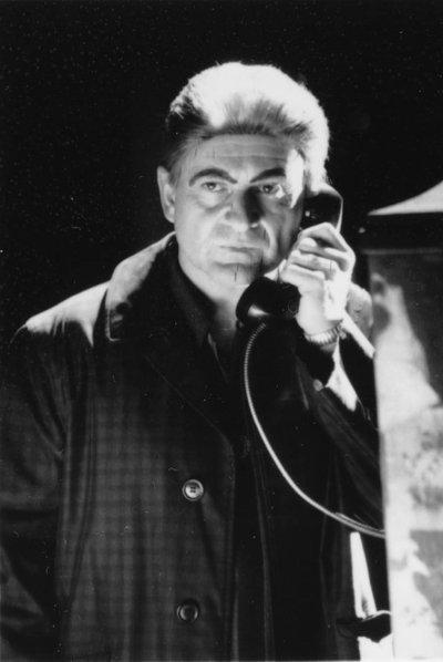 "Bozo Joe: ""JOE PESCI as David Ferrie in Oliver Stone's gripping suspense drama, 'J.F.K.,' a Warner Bros. release."