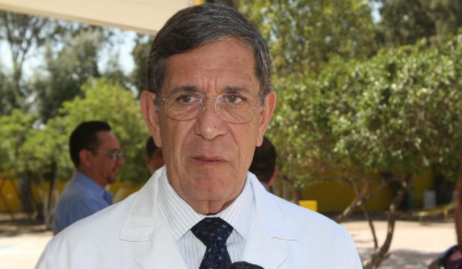 Dr. José Bustamante Moreno, Baja California's secretary of health
