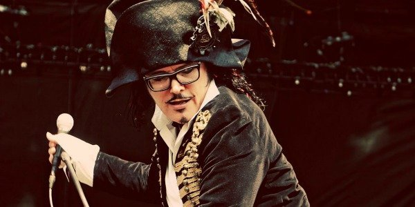 New-romantic new-waver Adam Ant plays Balboa Theatre Wednesday night.