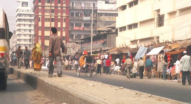 """Dhaka, Bangladesh: """"I will (I hope) never forget the ride from the airport to the hotel."""""""