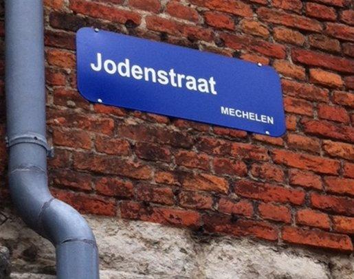 """Mechelen's """"Jew Street."""""""