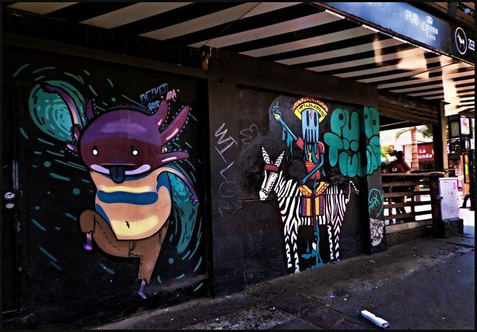 Neighborhood Photos TIJUANA,BAJA CALIFORNIA Urban art in Tijuana's Sixth Avenue/Arte Urbano en la Calle Sexta de Tijuana