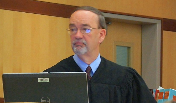 Judge K. Michael Kirkman accepted the attorney-client privilege argument. Photo Weatherston.