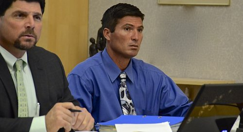 Raul Licon Jr. pleads not guilty to all charges. Photo Weatherston.