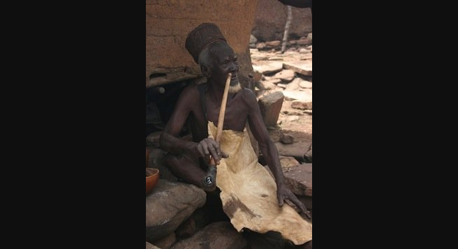 Photo of witch doctor in Burkina Faso: $1.