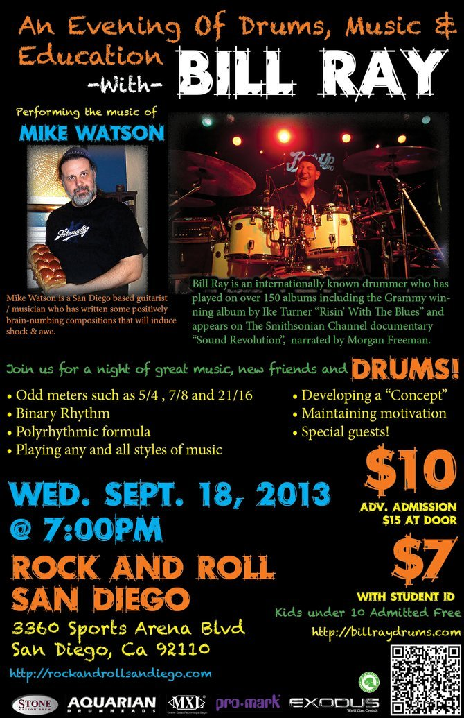 Please come to my clinic... not just for drummers!