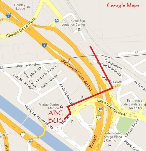 Ensenada By Bus San Diego Reader - Google maps us border to rosarito mexico