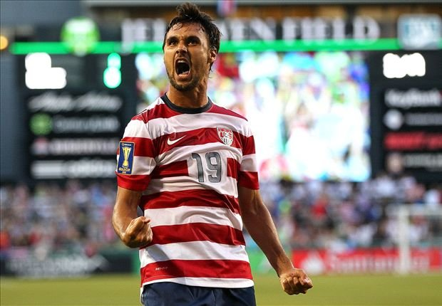 Where's Waldo? Nope. Where's Wondo? The U.S. teams best striker is spending way too much time on the bench. Also, the uniforms are ridiculous.