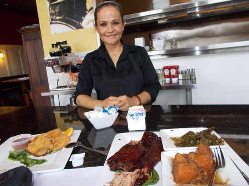 Chef Maricela Castro has learned to cook southern-style