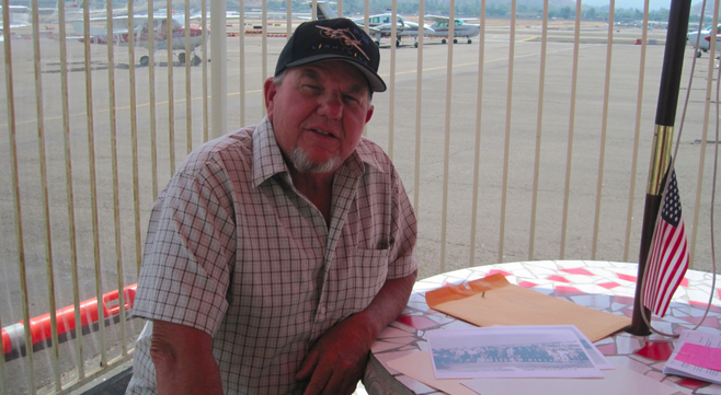 Robert Germann at Gillespie Field