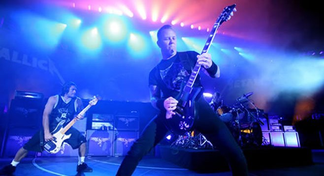 Metallica presents Through the Never and then plays a secret show.