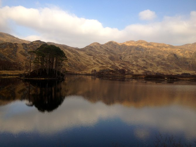 Loch Eilt, Hogwarts Lake. Now the final resting place of Albus Percival Wolfric Brian Dumbledore.