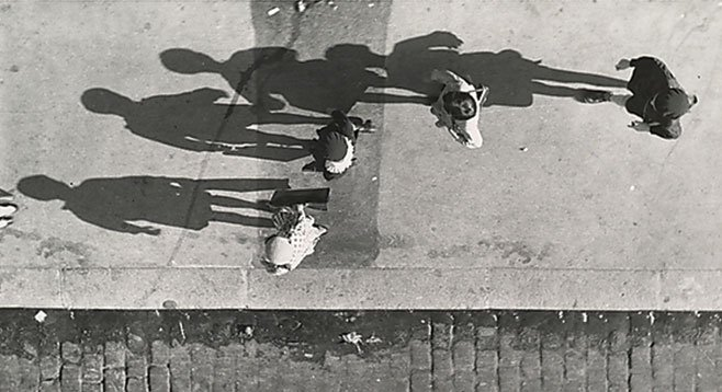 Paris Shadows, by Andres Kertesz